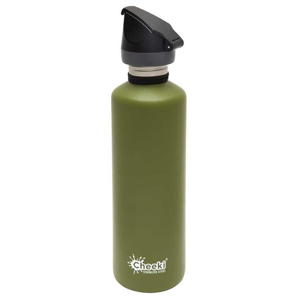 Cheeki Single Wall Active Bottle 750ml - Khaki