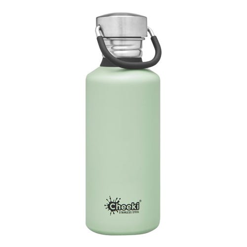 Cheeki Single Wall Water Bottle 500ml - Pistachio