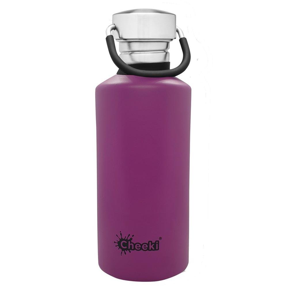 Cheeki Single Wall Water Bottle 500ml - Purple