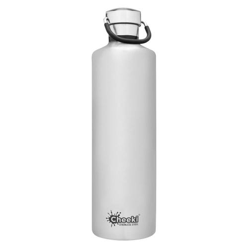 Cheeki Insulated Water Bottle 1L - Silver