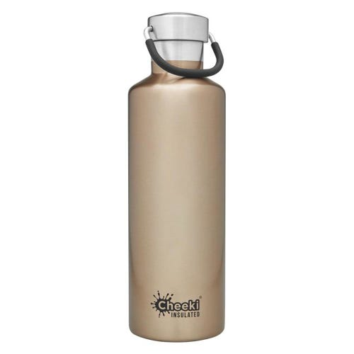 Cheeki Insulated Water Bottle 600ml - Champagne