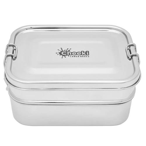 Cheeki Stainless Steel Lunch Box Double Stacker