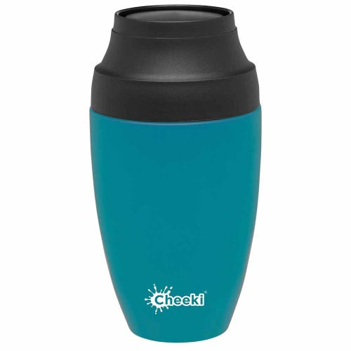 Cheeki Leakproof Coffee Mug 350ml - Topaz