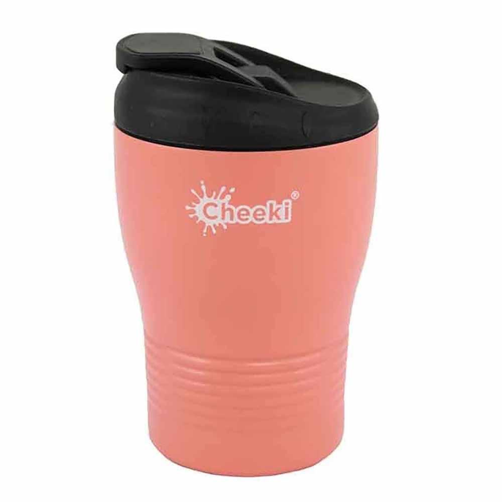Cheeki Coffee Cup 240ml - Coral