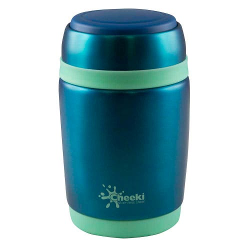 Cheeki Insulated Food Jar - Blue (480ml)