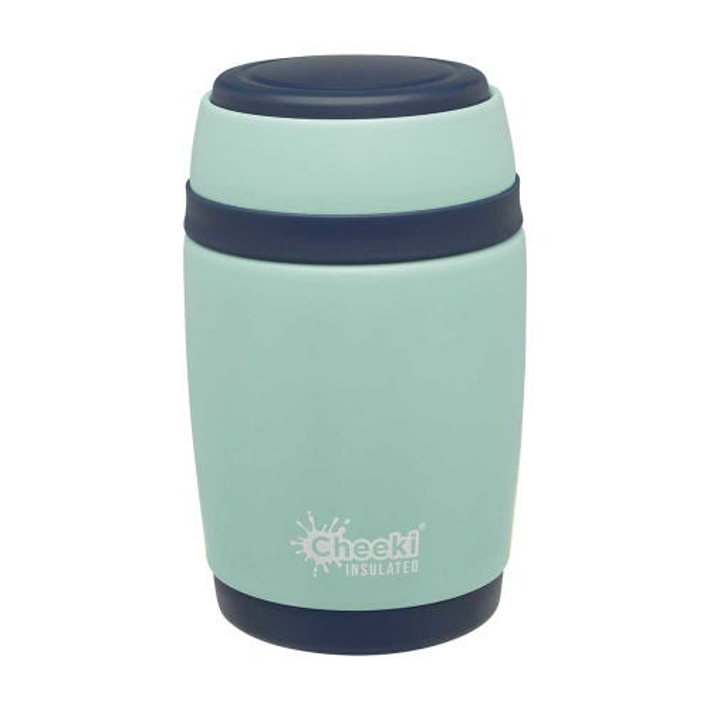 Cheeki Insulated Food Jar - Pistachio (480ml)