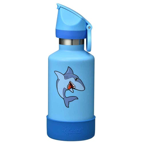 Cheeki Insulated Kids Water Bottle 400ml - Sammy the Shark