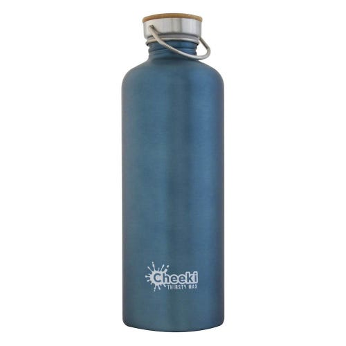 Cheeki Single Wall Water Bottle 1.6L - Teal