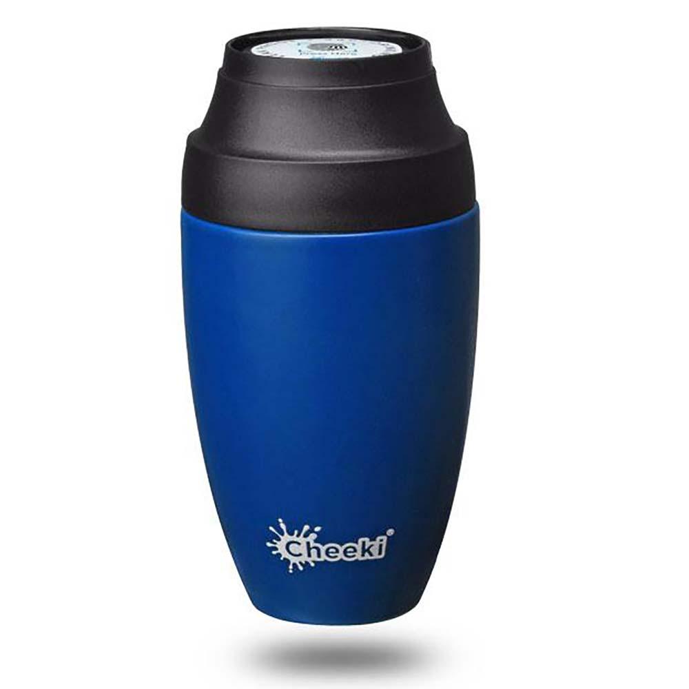 Cheeki Leakproof Coffee Mug 350ml - Sapphire Blue