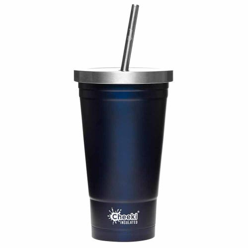 Cheeki Insulated Smoothie Tumbler 500ml - Ocean
