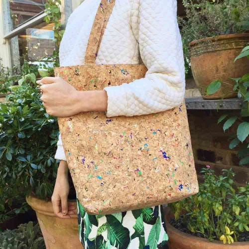 By The Sea Collection Cork Vivid Tote Bag