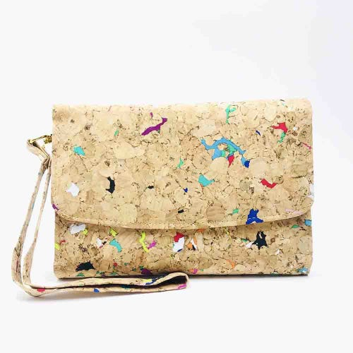 By The Sea Collection Cork Vivid Emily Wallet