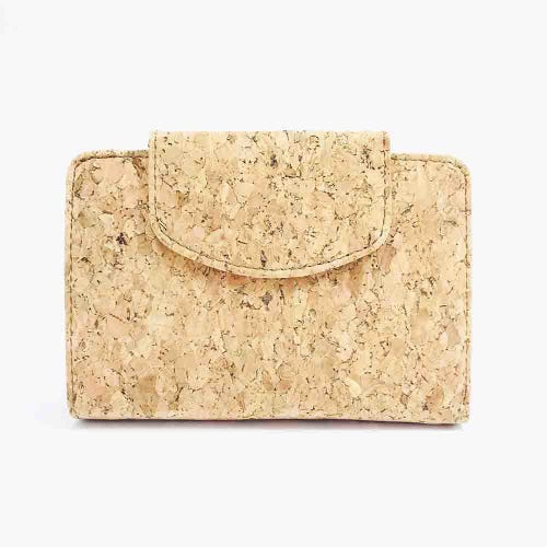 By The Sea Collection Cork Classic Fiora Wallet