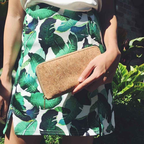 By The Sea Collection Cork Classic Iggy Wallet