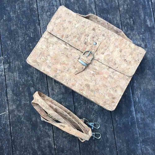 By The Sea Collection Cork Classic Kiki Clutch