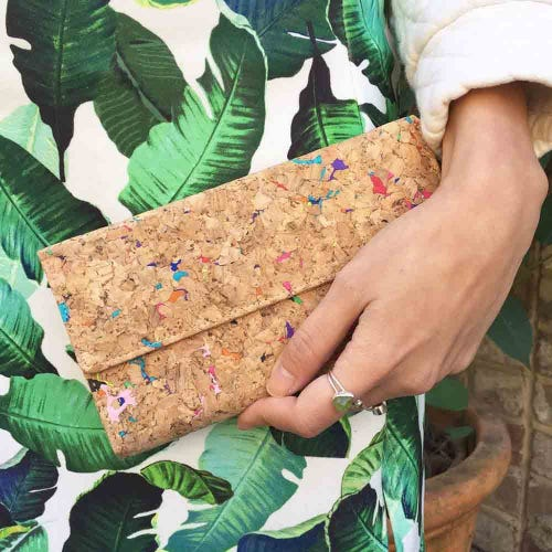 By The Sea Collection Cork Vivid Lara Wallet