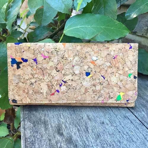By The Sea Collection Cork Vivid Lola Wallet