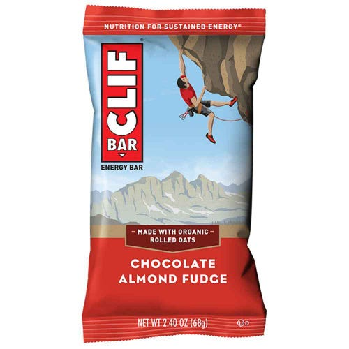 CLIF Bar Chocolate Almond Fudge Energy Bar (68g)