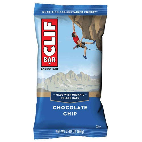 CLIF Bar Chocolate Chip Energy Bar (68g)