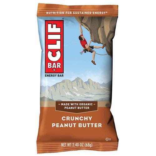 CLIF Bar Crunchy Peanut Butter Energy Bar (68g)