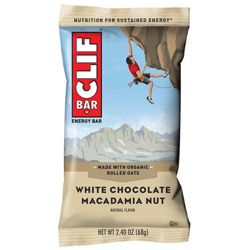 CLIF Bar White Chocolate Macadamia Energy Bar (68g)