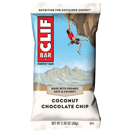 CLIF Bar Coconut Chocolate Chip Energy Bar (68g)