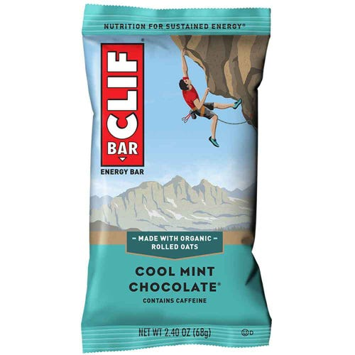CLIF Bar Cool Mint Chocolate Energy Bar (68g)