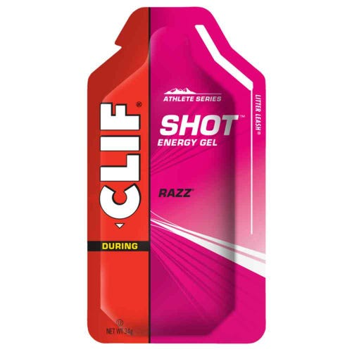 CLIF SHOT Energy Gel Raspberry (34g)