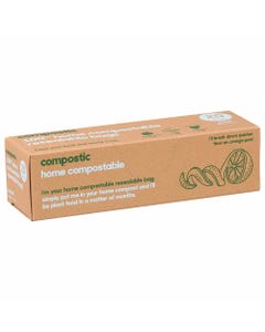Compostic Home Compostable Resealable Snack Bags (20 Pack) | Flora & Fauna Australia