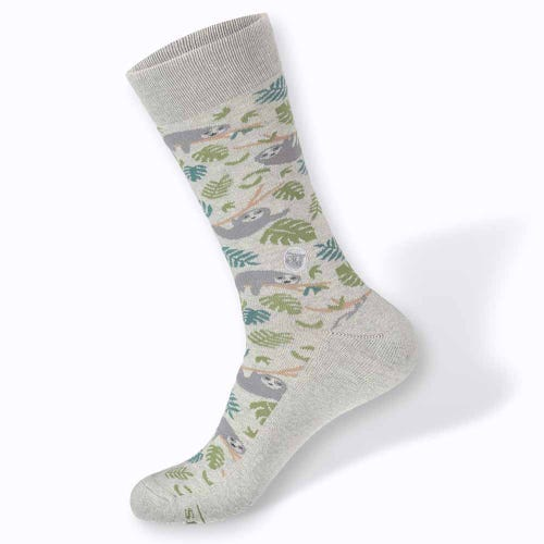 Conscious Step Men's Socks - Protect Sloths