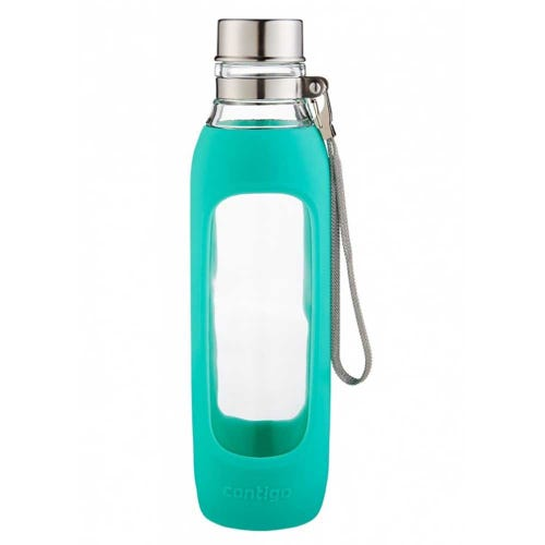 Contigo Glass Water Bottle - Jade (591ml)