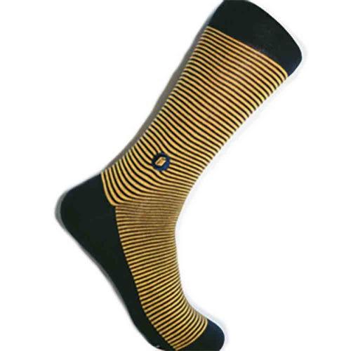Conscious Step Men's Socks - Give Books (Stripes)