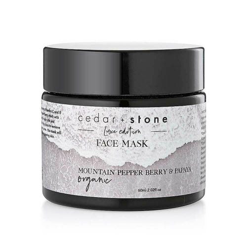 Cedar + Stone Berry & Papaya Face Mask (60ml)
