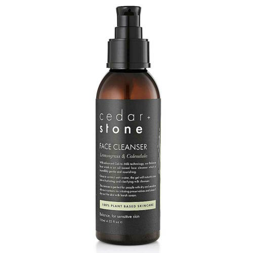 Cedar + Stone Cleanser Lemongrass & Calendula (125ml)