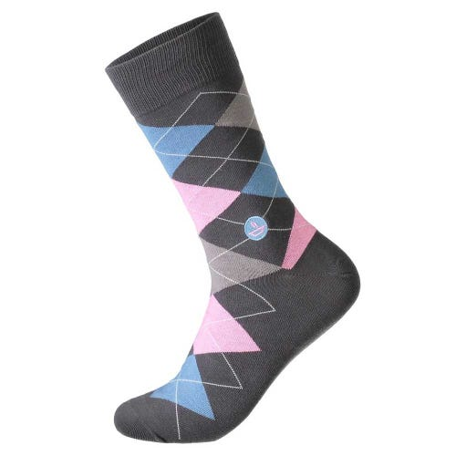 Conscious Step Men's Socks - Feed Children (Argyle)