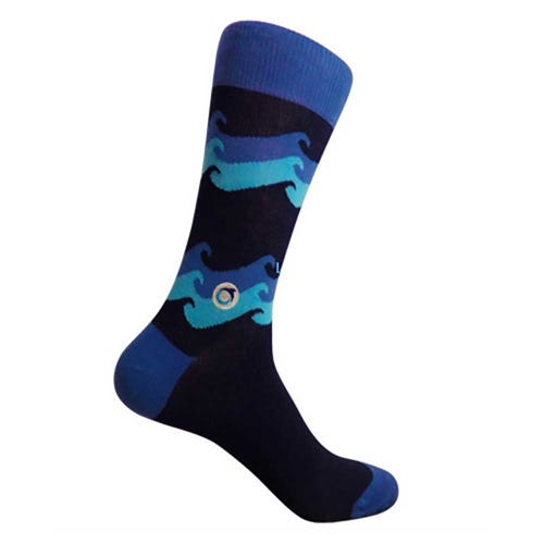 Conscious Step Men's Socks - Ocean Protection
