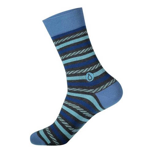 Conscious Step Men's Socks - Give Water (Stripes)