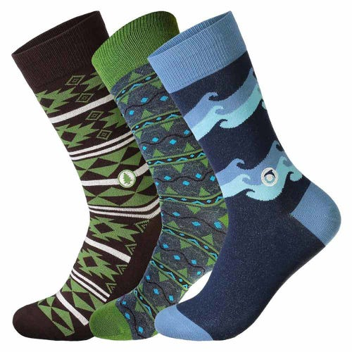 Conscious Step Men's Sock Set – Our Planet