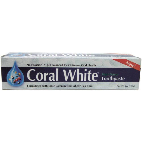 Coral White Toothpaste 170g