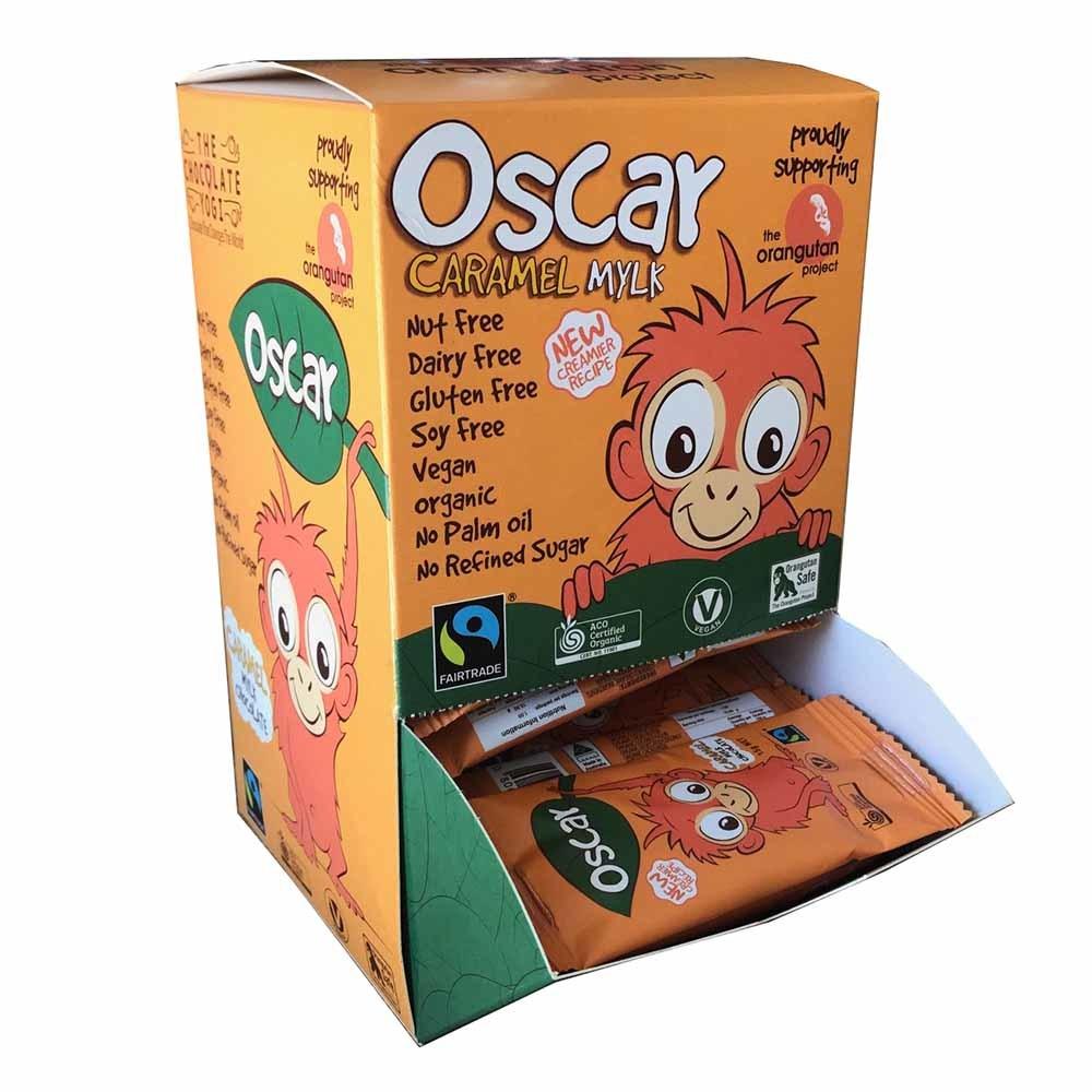 The Chocolate Yogi Oscar Mylk Caramel Bar - Box
