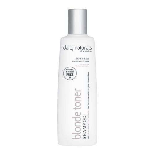 Daily Naturals Blonde Toner Shampoo (250ml)