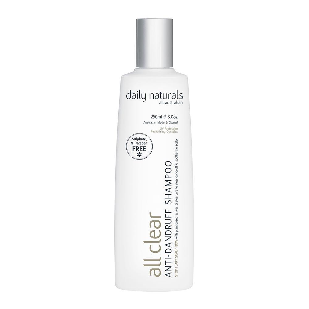 Daily Naturals All Clear Anti-Dandruff Shampoo (250ml)