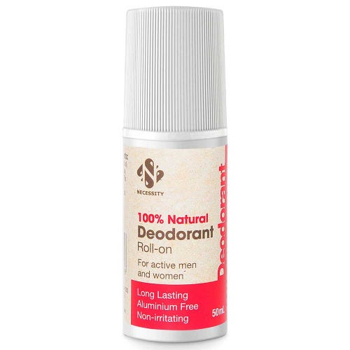 Necessity Natural Roll On Deodorant (50ml)
