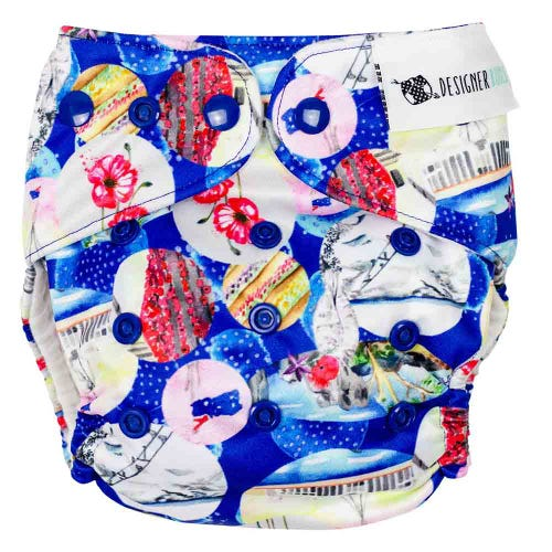 Designer Bums Reusable Nappy - ACT
