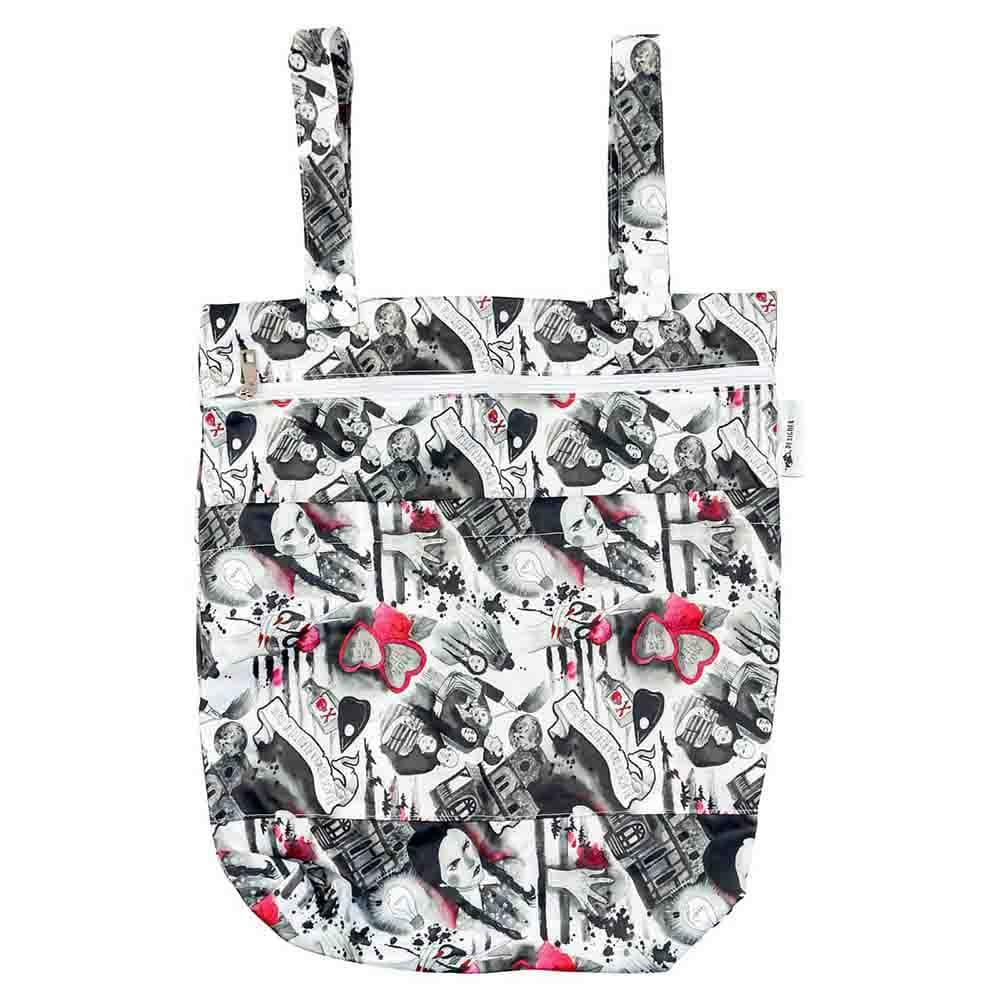 Designer Bums Wet Bag - Addams Family