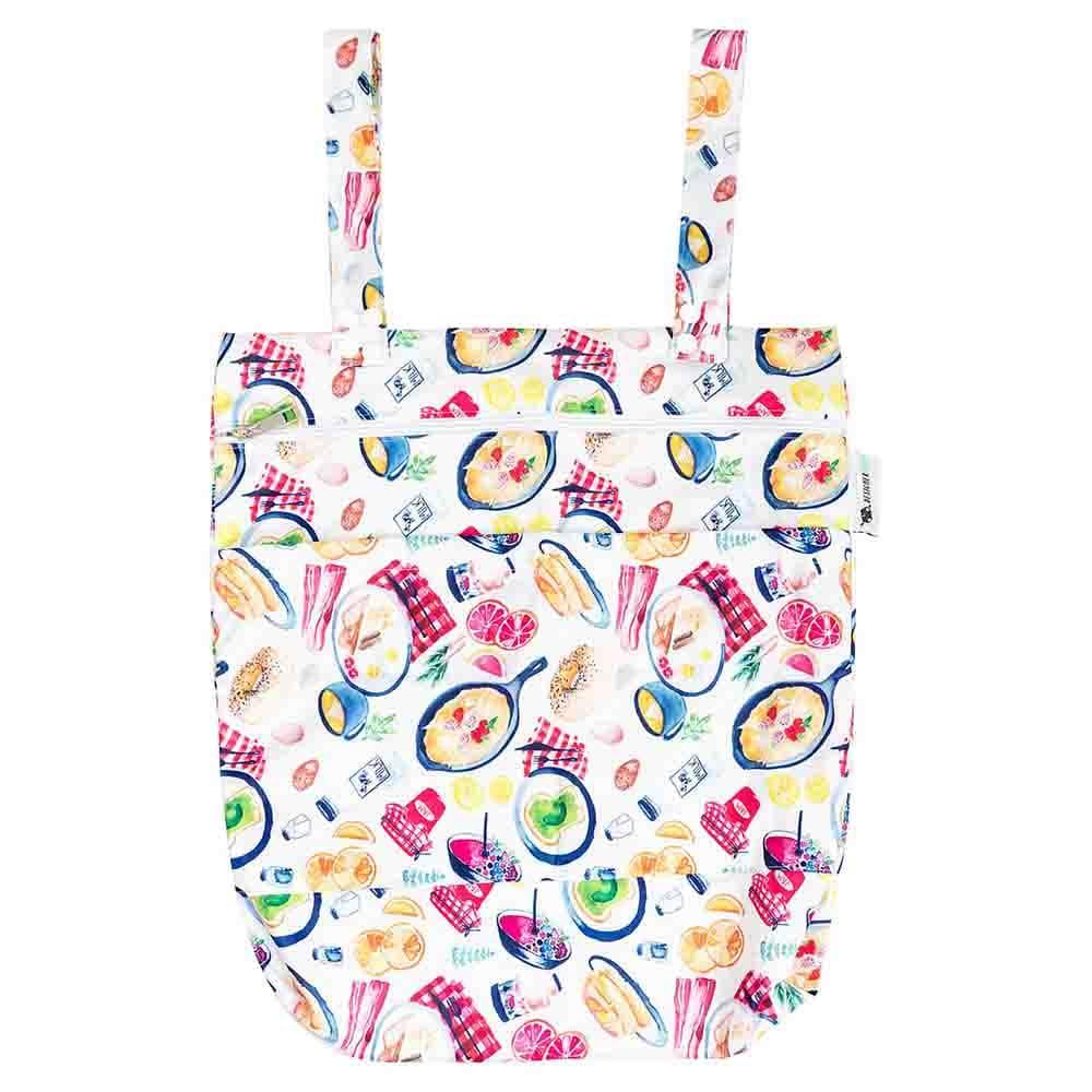 Designer Bums Wet Bag - Breakfast Is My Jam