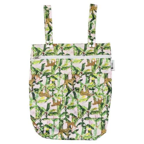 Designer Bums Wet Bag - Cheetah Palms