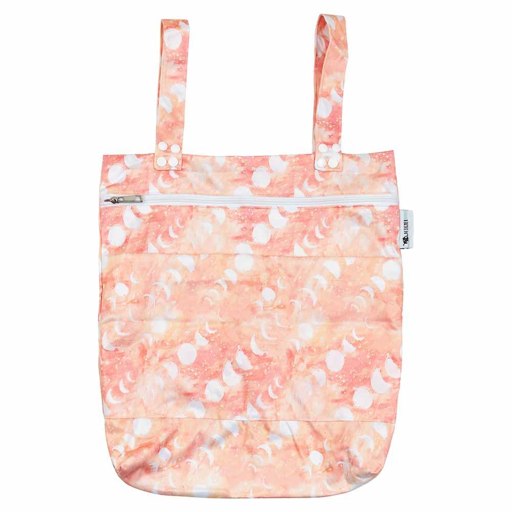 Designer Bums Wet Bag - Coral Moon