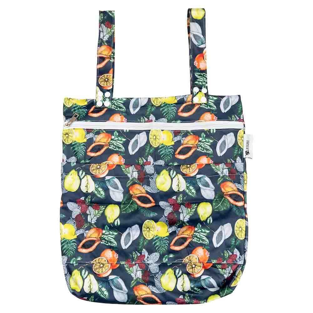 Designer Bums Wet Bag - Dark Orchard