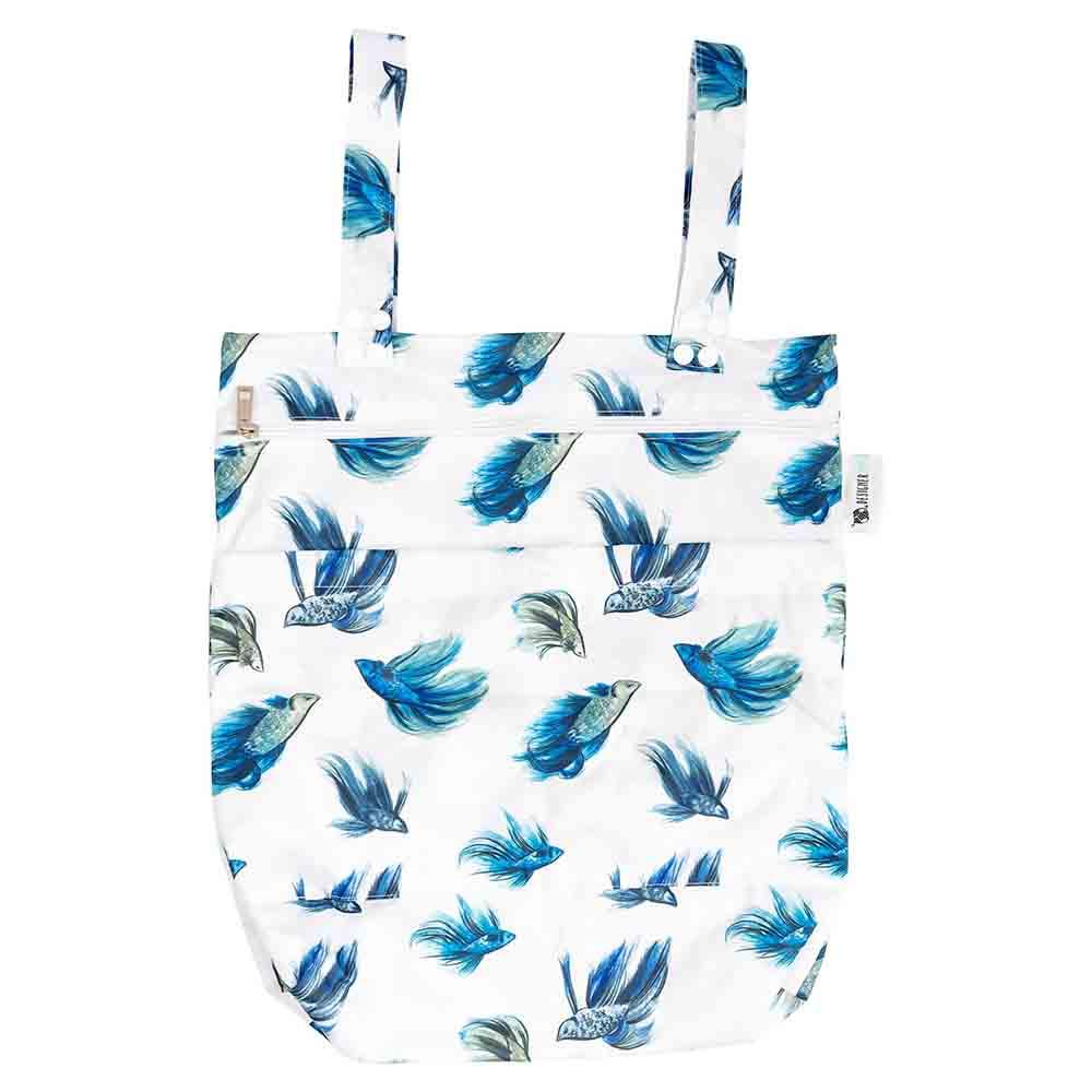 Designer Bums Wet Bag - Fighting Fish
